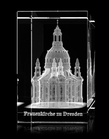 Andenken & Geschenke mit Dresdner Motiven als Glasinnengravur