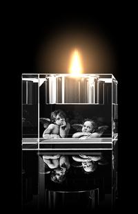 Raffael Engel : Teelichthalter von GLASFOTO.COM
